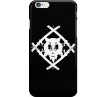 XWULF BLADES WHITE HOLLOWSQUAD iPhone Case/Skin