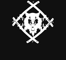XWULF BLADES WHITE HOLLOWSQUAD Unisex T-Shirt