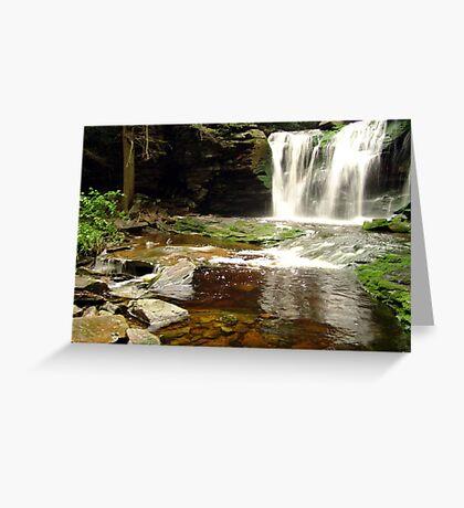 Elakala Falls - West Virginia Greeting Card