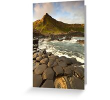 The Giants Causeway Greeting Card