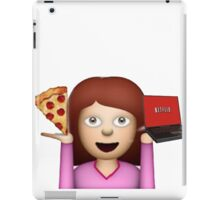 PIZZA N NETFLIX iPad Case/Skin