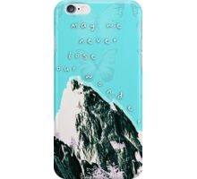 May We Never Lose Our Wonder iPhone Case/Skin