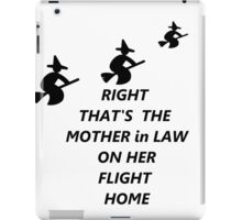 Mother-in-Law iPad Case/Skin