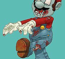 zombie mario by themunic