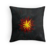 Star Explodes in the Draco Constellation Throw Pillow