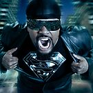 :::Black Superman::: by netmonk