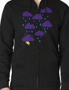 Melbourne Weather Zipped Hoodie