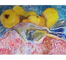 Sarah's Pears Photographic Print
