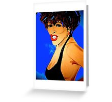 Tina Turner Private Dancer Greeting Card