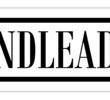 Bandleader Black Sticker