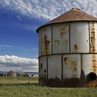 Silos at Carrizo by Cathy L. Gregg