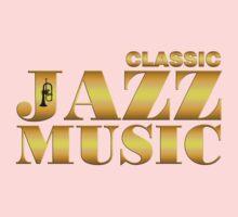 Vintage classic jazz gold One Piece - Short Sleeve