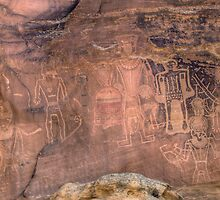 Fremont Rock Art in Northern Utah by rjcolby