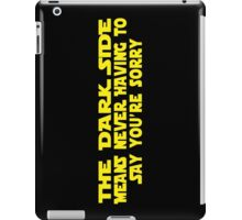 Dark Truth iPad Case/Skin