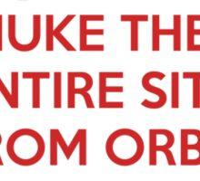 Take off and Nuke it Sticker