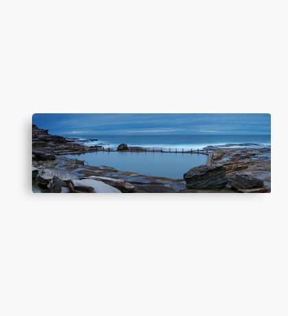 Mahon Pool Panorama Canvas Print