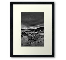 The Decision Framed Print
