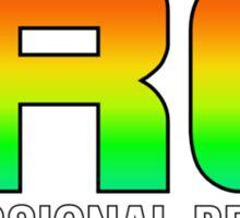Colorful Pro Bro Sticker