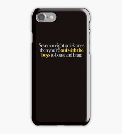 Young Frankenstein - Seven or eight quick ones,,, iPhone Case/Skin