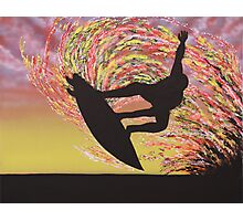 Grab Air Silhouette Photographic Print