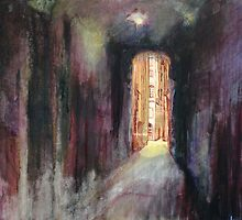 Old town alley by Lorenzo Castello