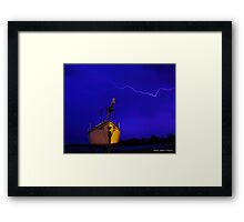 Safe Harbour Framed Print