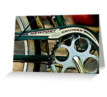 Newport Cruiser Greeting Card