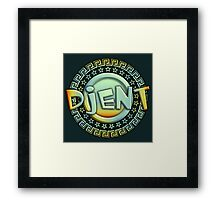 Heavy Metal Djent Framed Print