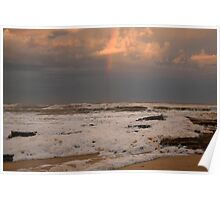 Rainbow over Merimbula new South Wales Poster