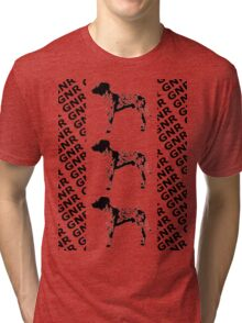 3 Dog Tri-blend T-Shirt