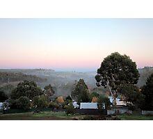 Sunrise in Bridgetown, Western Australia Photographic Print