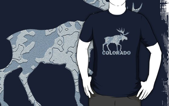 Colorado Moose by YayShirts
