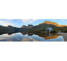 Dove Lake Boat Shed, Cradle Mountain, Australia Photographic Print