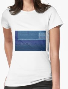 LE wall Womens Fitted T-Shirt