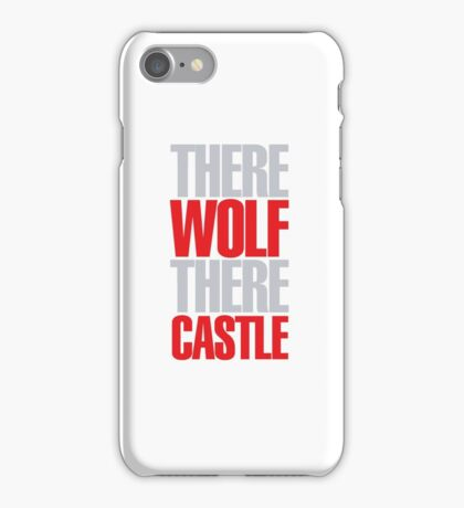 Young Frankenstein - There wolf there castle iPhone Case/Skin