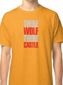 Young Frankenstein - There wolf there castle Classic T-Shirt