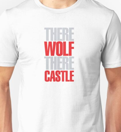 Young Frankenstein - There wolf there castle Unisex T-Shirt