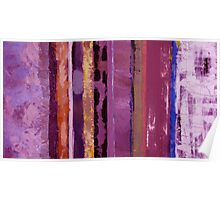 Purple Hues Poster
