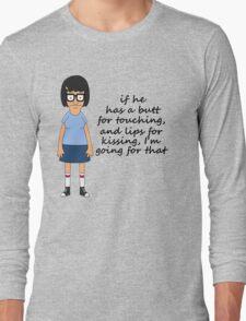 Tina Belcher Butts Long Sleeve T-Shirt