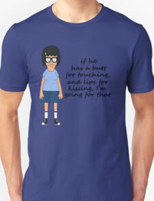 Tina Belcher Butts Unisex T-Shirt