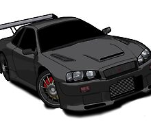 Nissan Skyline by ReidDesign