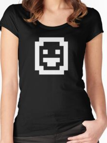 Dwarf Fortress: White Women's Fitted Scoop T-Shirt