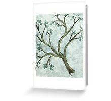 Tree Branch #2, watercolor Greeting Card