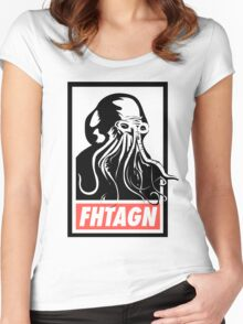 Cthulhu Fhtagn Women's Fitted Scoop T-Shirt