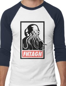 Cthulhu Fhtagn Men's Baseball ¾ T-Shirt