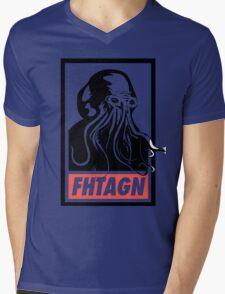 Cthulhu Fhtagn Mens V-Neck T-Shirt
