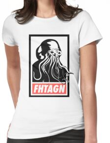 Cthulhu Fhtagn Womens Fitted T-Shirt