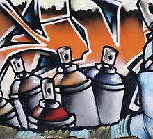 Street Art #2- Brighton by Steve Churchill