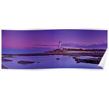 """Lonsdale Ebbtide Panorama"" Poster"
