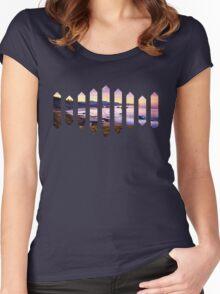 Sufjan Stevens Beach Oregon Design Women's Fitted Scoop T-Shirt